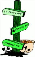 Irish signpost