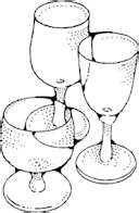 wine glasses