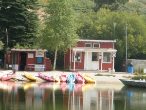 "The lake headquarters where you can rent a boat. With a valid fishing license you can also fish on the lake although there is a charge. You would go to the ""headquarters"" for information. Each Labor Day weekend this part of the lake is central to the annual always-exciting, fun Water Carnival."