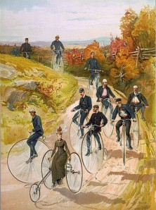 "Ah, bicycling in 1887. Boy have things changed but these people probably as much fun as everyone today who takes part in the Aug. 25 ""Tour de Lake Arrowhead."""