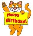 Happy birthday you two. You're very special! Enjoy your birthdays!