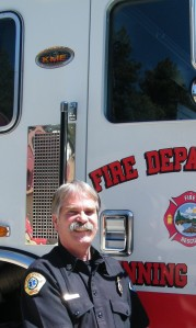 Running Springs Fire Chief Tony Grabow is happy to welcome residents and visitors to the fire station on Oct. 13 for Emergency Services Day.