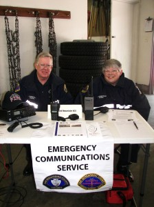Carol and Jim Higgenbotham are so dedicated and they volunteer hours and hours of their time to the Emergency Communication Service on the mountain. This dedicated couple has been in the Central Mountain organization for 12 years. Emergency communication is a requirement during fires and other emergencies so it is a good thing we have so many people involved in making sure there is an effective communication system.