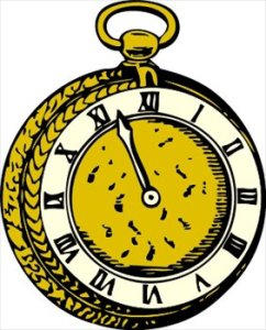 "Don't forget to turn your clocks back one hour tonight, Saturday, Nov. 3 or you'll be really ""out of whack"" all day tomorrow."