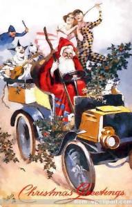 Santa_w_clowns_in_car_1907