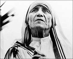 While Mother Teresa died several years ago she would have loved this shoe collection as she recognized the fact that we need to help one another. She spent her life helping the poor in a million different ways. Bless her beautiful soul!