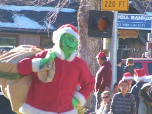 Everyone's favorite Grinch was there last year and the children loved it!