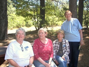 """These fabulous local women are all volunteers at the Arboretum. They are a fabulous group of local women who donate hours of their time to make sure that """"locals"""" and visitors have as good a time as possible when they visit the Hwy. 18 Arboretum."""