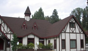 The beautiful, historic Tudor House is tucked away off Hwy. 18 in Skyforest, so close to Lake Arrowhead.