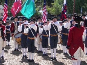 The talented members of the Mountain Fifes and Drums are always incredible and thrilling.