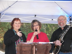 "Great entertainment by the always-entertaining local singing group, ""Quarter to Three."" They're always terrific!"