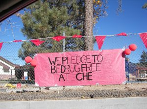 Red ribbon Week, CHE