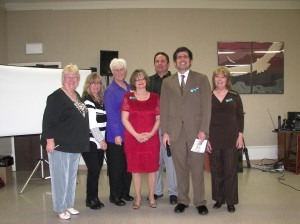 The Running Springs Area Chamber of Commerce board of directors at last year's great event!