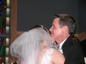 Jennie with her dad, Greg Pirolo. Congratulations to all the Pirolo family!