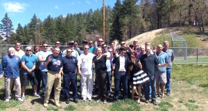 What a great group of people. Most of these people are family and/or former or current firefighters in our mountain areas.