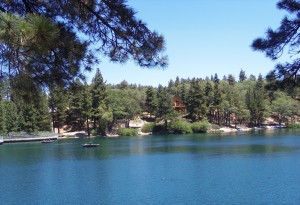 Beautiful Green Valley Lake in the San Bernardino Mountains. Come enjoy the tranquility and the great fishing!