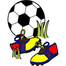 Soccer balls and shoes