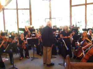 Each year the San BernardinoSymphony Orchestra absolutely enthralls a packed house at the beautiful Our Lady of the Lake Catholic  Church. This event has been happening for probably 20 years.